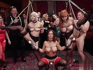 Fantastically Orgy With Cyren De Mer blowjob