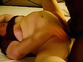 Kristy getting fucked hard by a Detroit BBC ( cuckold ) bbw