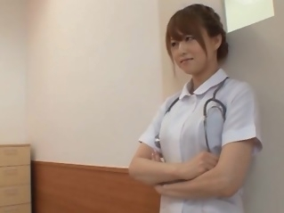 Akiho Yoshizawa Japanese naughty nurse has sex in hospital fetish